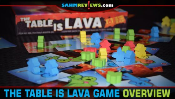 The Table is Lava Dexterity Game Overview