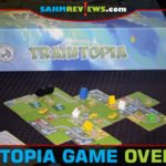 Our friend is really into train-themed games. We love showing off new ones to her whenever we can. Traintopia by Board & Dice impressed all of us! - SahmReviews.com