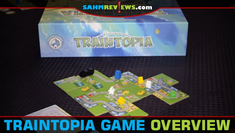 Traintopia Tile-Laying Game Overview