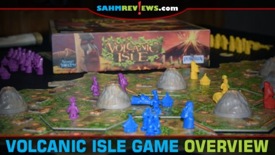 Volcanic Isle Board Game Overview