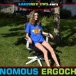 Keep ergonomics in mind if you spend a lot of time in an office chair. ErgoChair 2 from Autonomous has several features to adjust for comfort and function. - SahmReviews.com