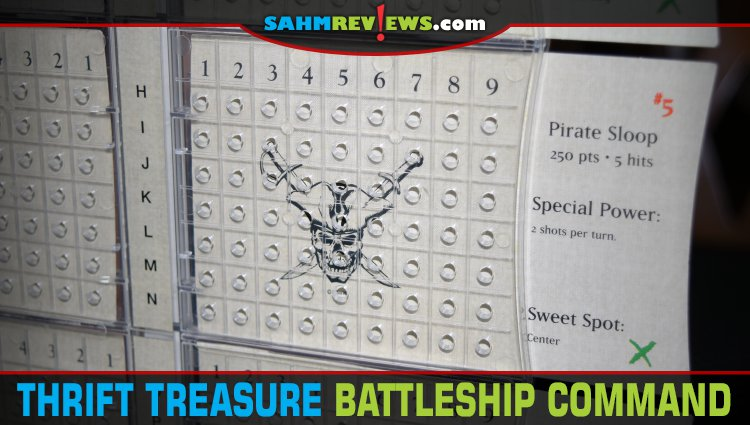 Thrift Treasure: Battleship Command