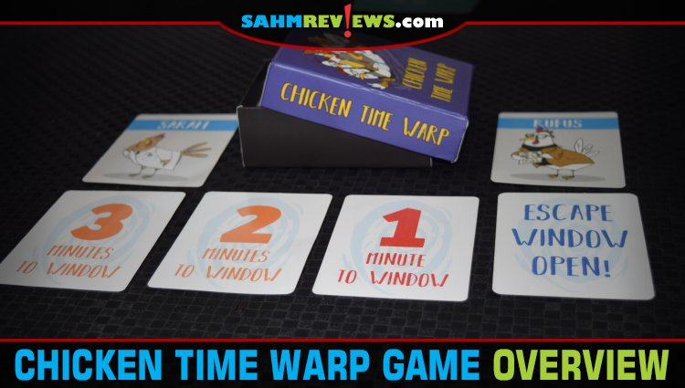 Chicken Time Warp Card Game Overview