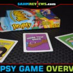 One part card game, one part silly dexterity challenge. Mix them together and you have the new Dropsy by Endless Games. Find out how to play! - SahmReviews.com
