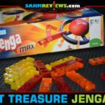 It has the name Jenga on the box, but Jenga Max is nothing like the original you're used to. Check out this interesting twist we found at our Goodwill! - SahmReviews.com