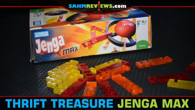 Thrift Treasure: Jenga Max Game