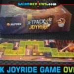 Lucky Duck Games managed to take the popular Jetpack Joyride app and make an analog version using polyomino pieces. - SahmReviews.com