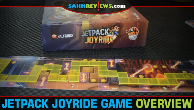 Jetpack Joyride Polyomino Game Overview