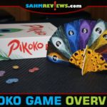The 3-D nature of Pikoko by Brain Games Publishing drew a small crowd to our table when we played it at Geekway. This game proves that design is as important as function! - SahmReviews.com
