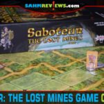 Venture off with your clan to find the treasures in Saboteur The Lost Mines board game from AMIGO Games. Beware of clanmates who are saboteurs! - SahmReviews.com