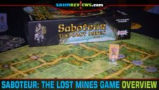 Saboteur: The Lost Mines Board Game Overview