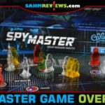 Carefully divide and share intelligence as you navigate the globe in an effort to complete missions in SpyMaster board game from Calliope Games. - SahmReviews.com