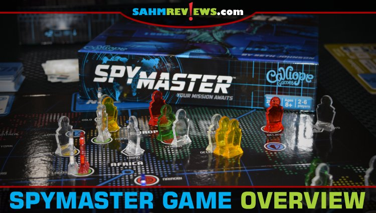 SpyMaster Board Game Overview