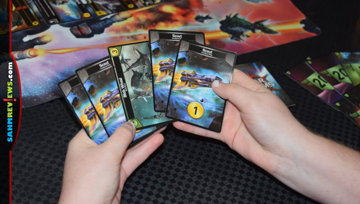 Star Realms from White Wizard Games is a compact deck-builder card game. With a mix of skill and randomness, each game is different. - SahmReviews.com