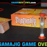 Stringamajig is a fast-paced party game from Fireside Games. Who knew a piece of string could provide so much entertainment? - SahmReviews.com
