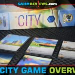 With cards as currency and simultaneous play, The City (#21 in the Bookshelf Series) from Eagle-Gryphon Games is a quick and easy card game. - SahmReviews.com