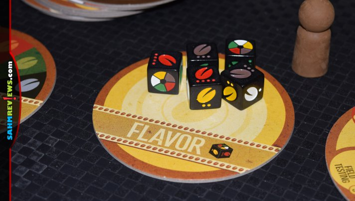 Pour yourself a cup of Joe, gather your friends and enjoy a coffee-themed game night with VivaJava: The Coffee Game and VivaJava Dice Game. - SahmReviews.com