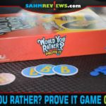Be prepared to actually live up to your vote when you play Would You Rather...? Prove It party game from Spin Master Games. - SahmReviews.com