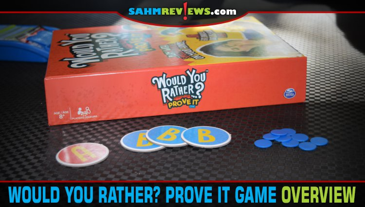 Would You Rather…? Prove It Game Overview