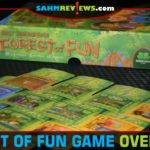 Take your Best Treehouse Ever card game experience up a notch and incorporate more players with Forest of Fun from Green Couch Games. - SahmReviews.com