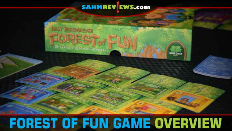 Best Treehouse Ever Forest of Fun Game Overview