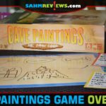 Grab the marker and start scribbling like a caveman. Hopefully someone will guess what you're drawing in Cave Paintings party game from R&R Games. - SahmReviews.com