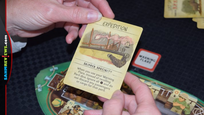 A trip to Disneyworld might not be in the cards, but playing Ravensburger's new Jungle Cruise Adventure Game is the next best thing! - SahmReviews.com
