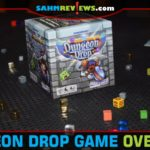 Dungeon games aren't always scary. Dungeon Drop from Gamewright offers a light, family-friendly approach to collecting loot and fighting monsters. - SahmReviews.com