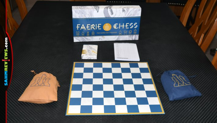 If you're in the market for a chess set, don't settle for normal. Check out this new Faerie Chess version that includes 14 brand new pieces to play! - SahmReviews.com