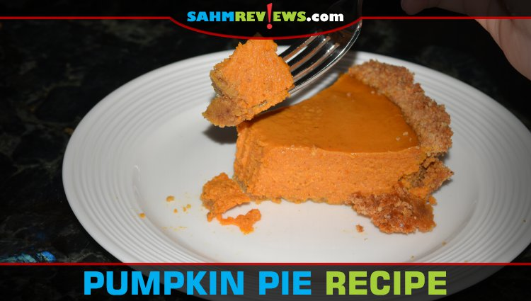 Pumpkin Pie with Cheerios Crust Recipe