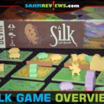 Protect your silkworms from predators while directing danger toward your competitors in Silk, a dice game from Devir Games. - SahmReviews.com