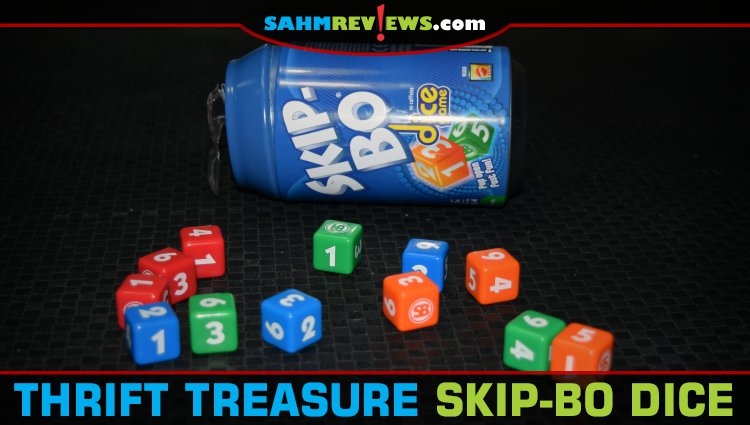 Thrift Treasure: Skip-Bo Dice Game
