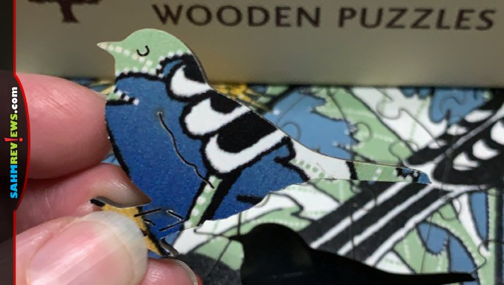 There are jigsaw puzzles and then there are JIGSAW PUZZLES! These wooden ones by Wentworth we found at thrift might be the best bargain of the year! - SahmReviews.com