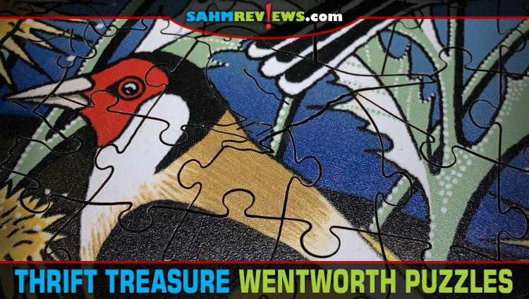 Thrift Treasure: Wentworth Wooden Jigsaw Puzzles