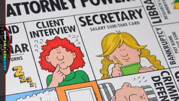 Two weeks in a row we thrifted what are certainly dud games. This time it was Attorney Power and it must be one of BGG's lowest rated games of all time! - SahmReviews.com
