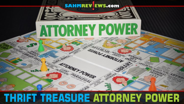 Thrift Treasure: Attorney Power Board Game