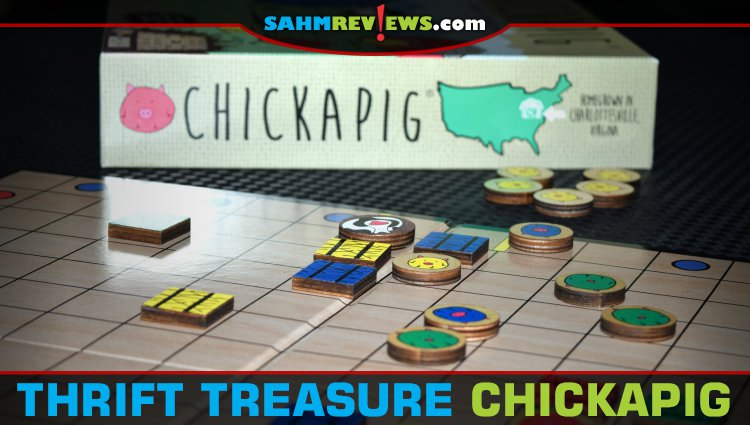 Thrift Treasure: Chickapig Abstract Game