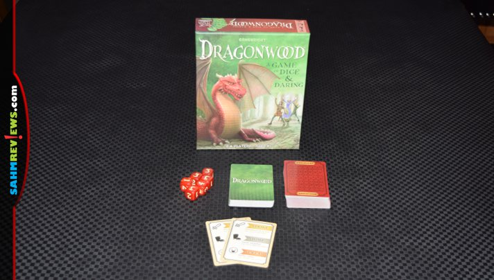 Gamewright's Dragonwood has kind of a cult following if the comments from the homeschool groups we're in are any indication. What is the buzz is all about? - SahmReviews.com