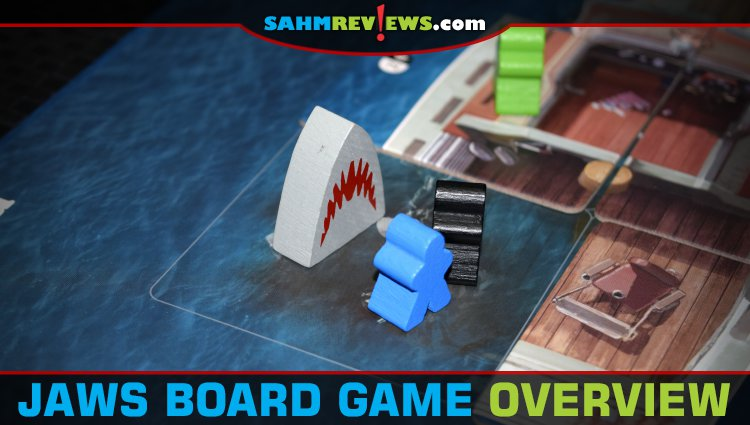 Jaws Board Game Overview