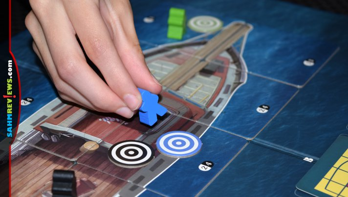 You'd be hard-pressed to find a board game that stays as true to the movie as the new Jaws game by Ravensburger. You even have to attach barrels! - SahmReviews.com