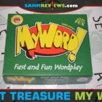 A speed game of spelling words might not be your favorite, but My Word! is our thrift find this week. It was designed by Reiner Knizia, so we couldn't pass! - SahmReviews.com