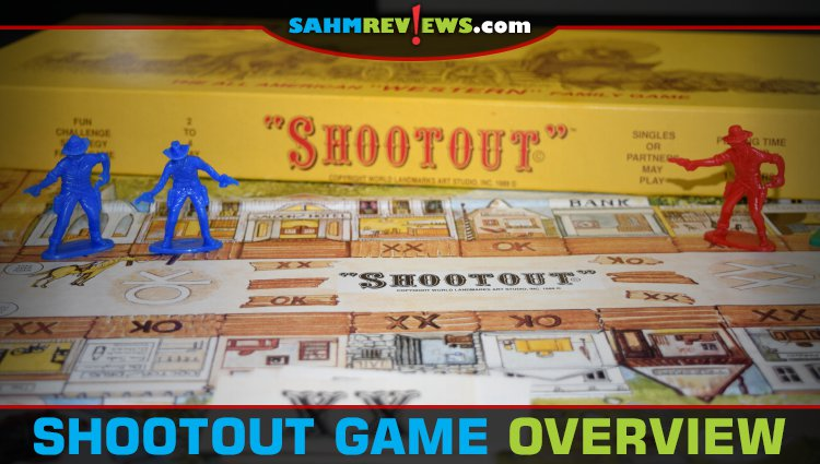 Thrift Treasure: Shootout Board Game