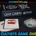 Be the first to summon The Dark One in Crazy Cultists by Rocket House Games. This inexpensive card game supports up to six players! - SahmReviews.com