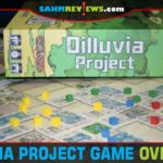 With many different options and actions, Dilluvia Project from Tasty Minstrel Games can look complicated, but it's not as overwhelming as it seems. - SahmReviews.com