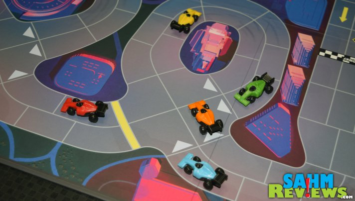Restoration Games has already released new tracks for Downforce! Check out this new Danger Circuit Expansion! - SahmReviews.com