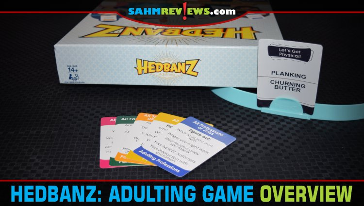 Hedbanz Adulting Party Game Overview