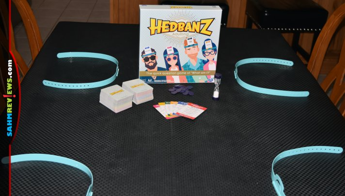 We consider Hedbanz by Spin Master to be a modern classic game. Their new Hedbanz: Adulting version really has those millennials guessing! - SahmReviews.com