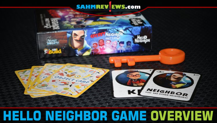Hello Neighbor: The Secret Neighbor Party Game Overview