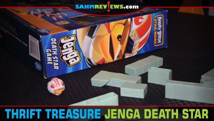 Thrift Treasure: Jenga Death Star Game