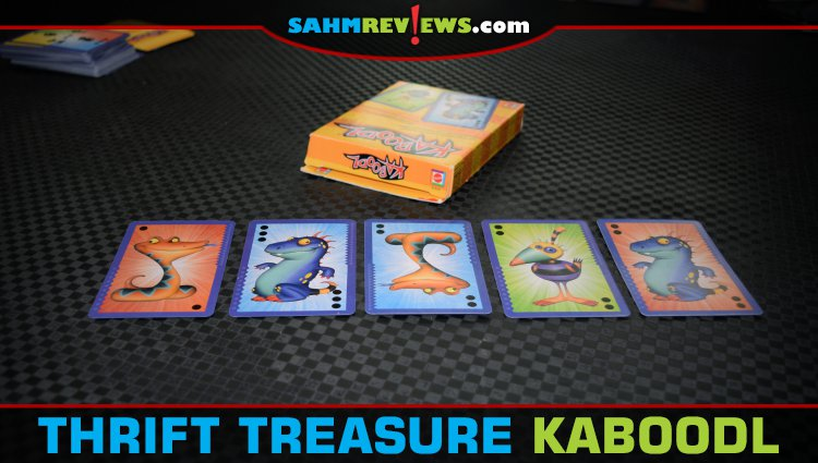 Thrift Treasure: Kaboodl Card Game